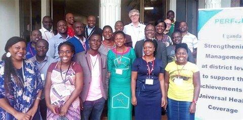 Participants and facilitators at Workshop 1