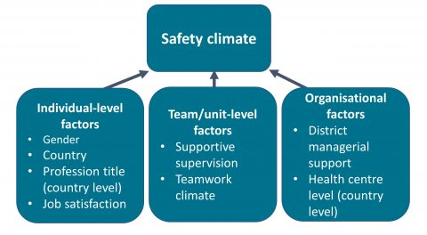 Diagram showing the studys analytical framework